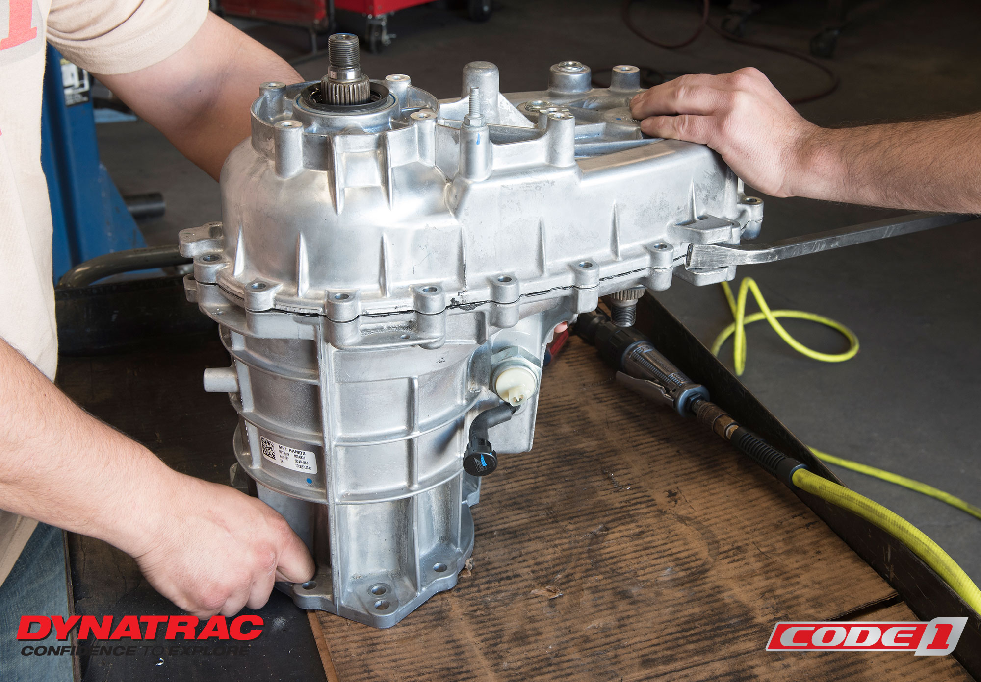 Dynatrac Jeep JL Transfer Case Modification 2