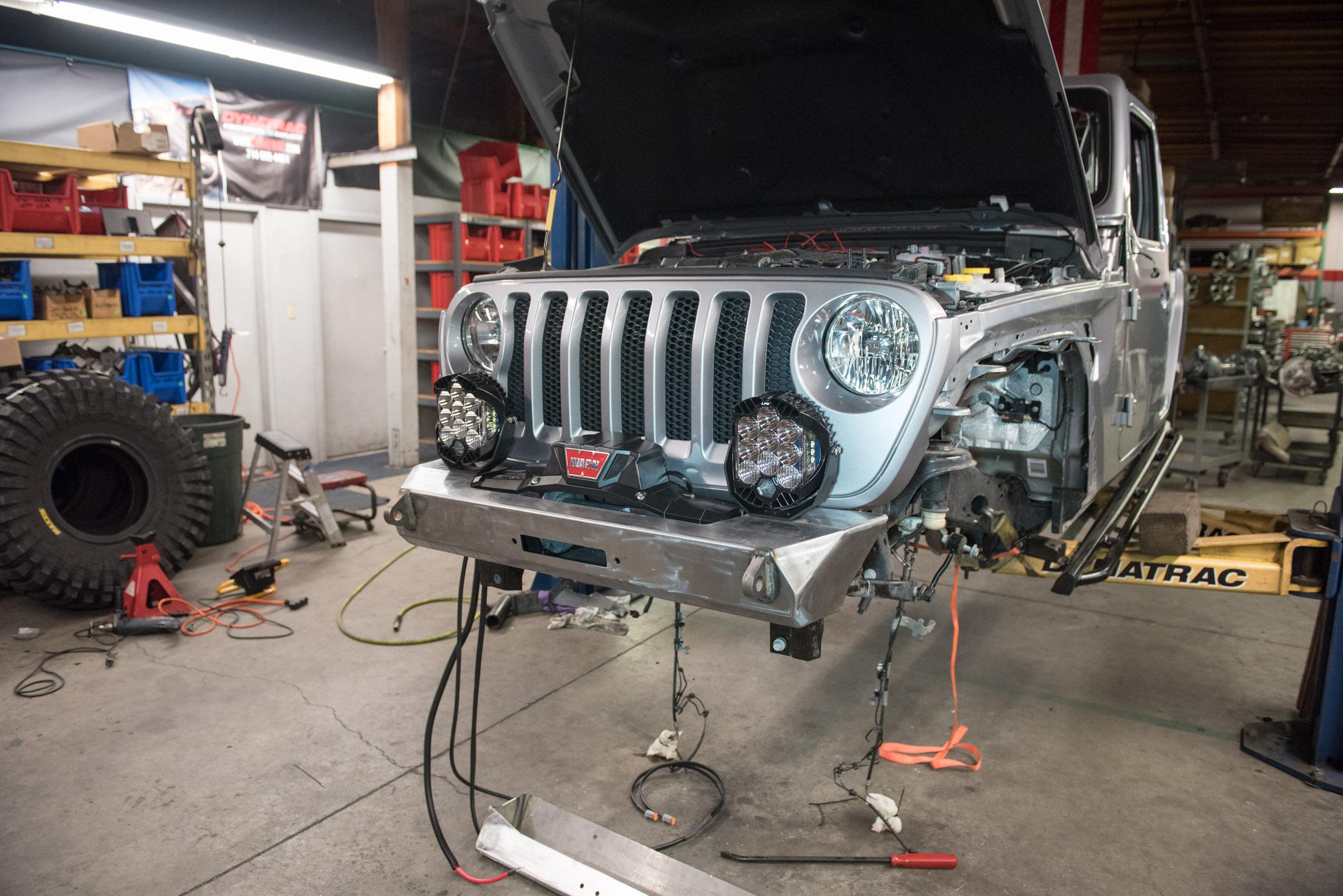 Dynatrac CODE1 2018 Jeep Wrangler JL Build Dynatrac Tech Info and News