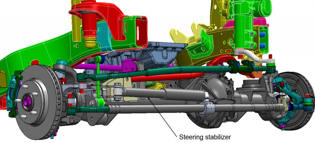 Typical-steering-stabilizer-installation